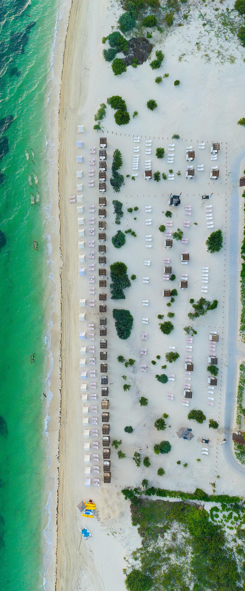 ESTUDIO PLAYA MUJERES   Panoramic Bird Beach