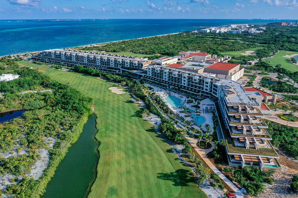 ESTUDIO PLAYA MUJERES   Panoramic Golf Side 4