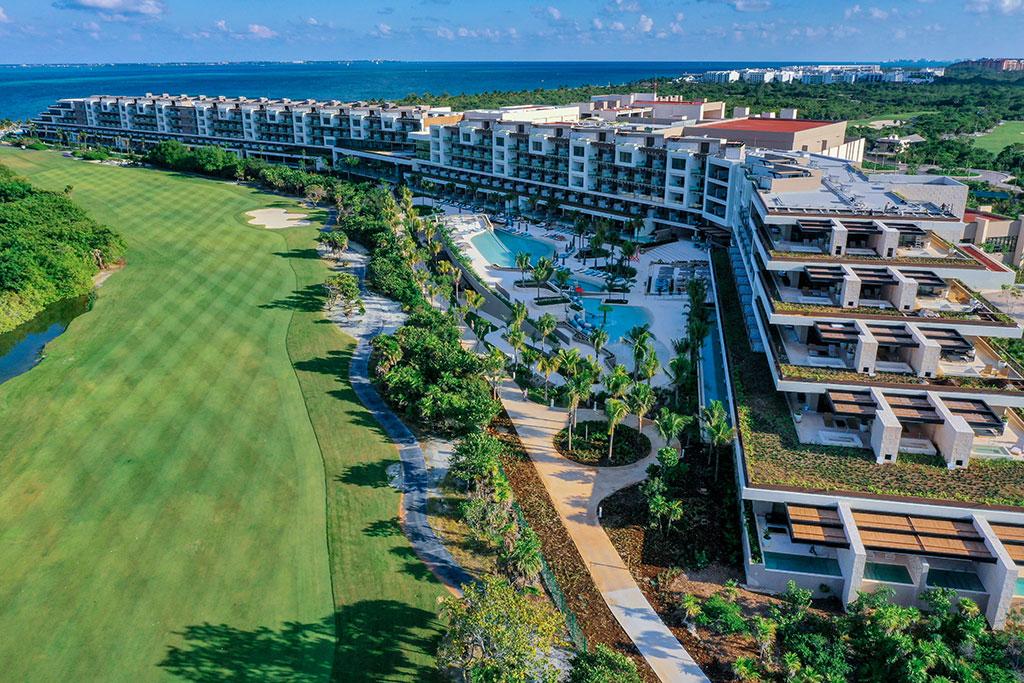 ESTUDIO PLAYA MUJERES   Panoramic Golf Side 2