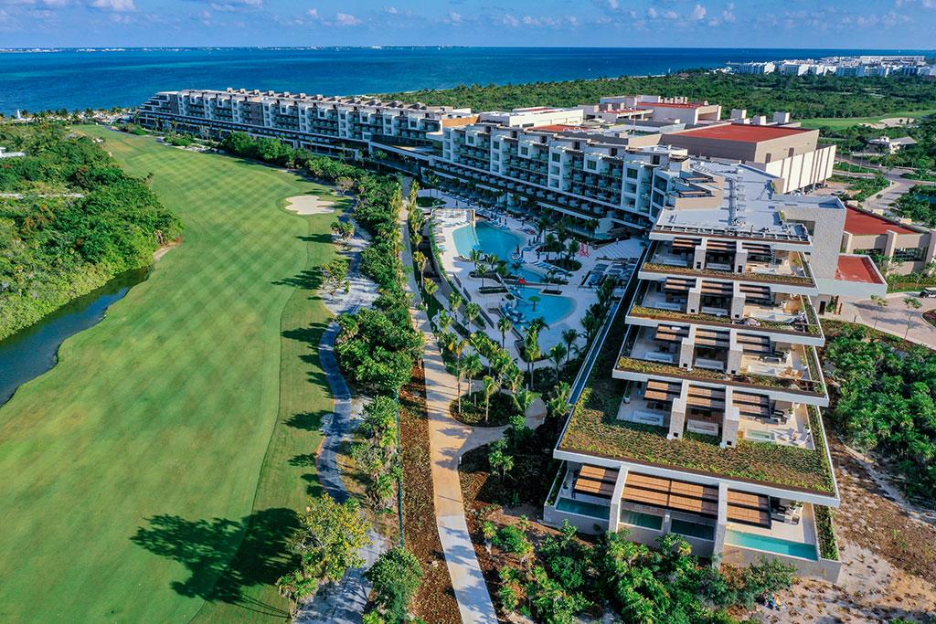 ESTUDIO PLAYA MUJERES   Panoramic Golf Side 3
