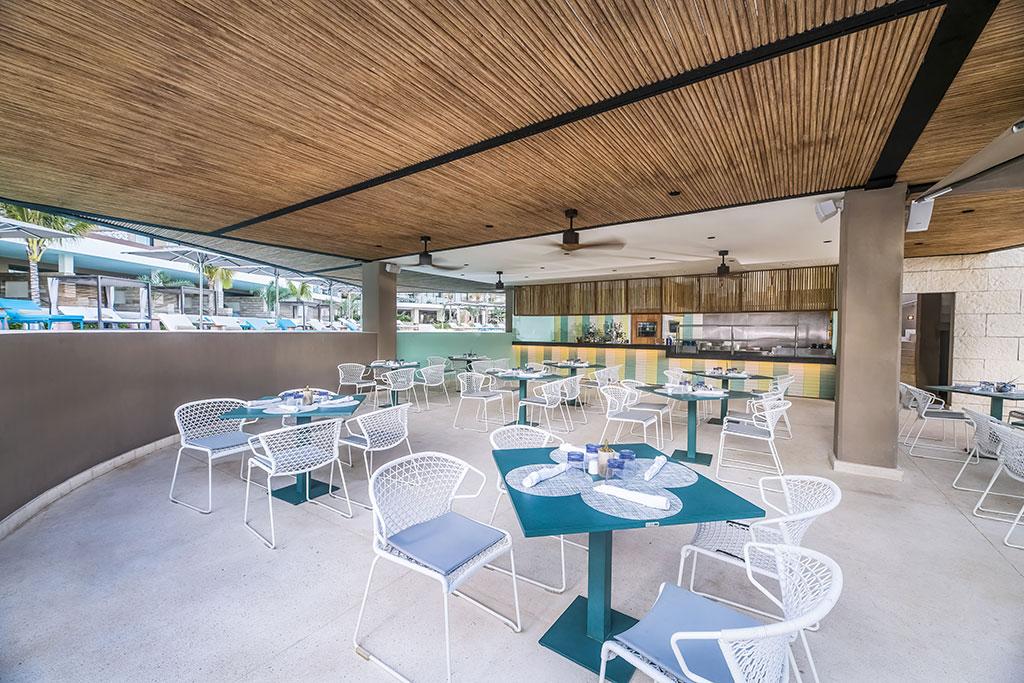 ESTUDIO PLAYA MUJERES   ESPM Bikini Azul PoolSide Restaurant 6