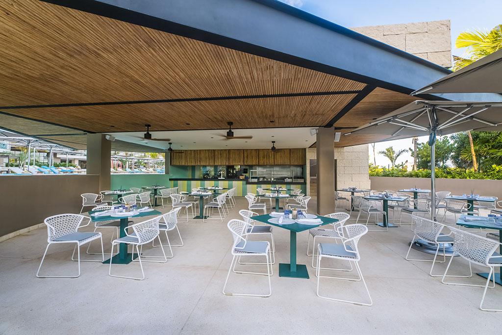 ESTUDIO PLAYA MUJERES   ESPM Bikini Azul PoolSide Restaurant 7
